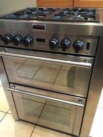 Stoves freestanding dual fuel double oven cooker