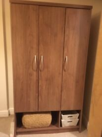 3-Door wardrobe for sale