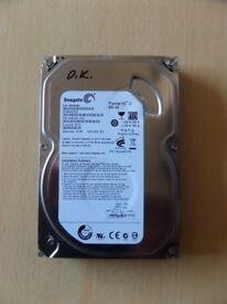 500 GB SEAGATE ST3500312CS 3.5 INCH HDD