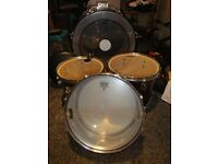 Drum Kit (with snare, high hat, sticks & stool)