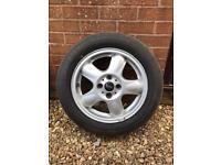 Mini Alloys and tyres x2