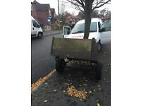 For sale is a small trailer