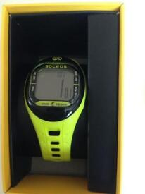 Soleus tempo water resistance fitness activity tracker lime yellow new step