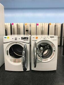 "24"" AND 27"" WASHER & DRYER STACKABLE END OF WINTER SALE 1 YEAR WARRANTY FREE DELIVERY UNTIL FRIDAY"