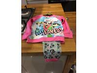 Girls Pyjamas powderpuff girls size 4-5 yrs new