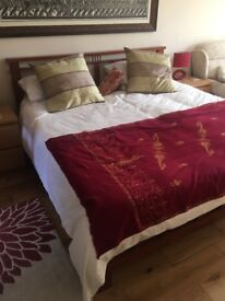 Super king bed frame and Mattress