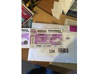 Creamfields 2016 4 day camping 25th-28th August