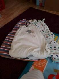 Bundle of sleeping bags