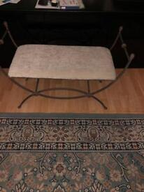 For Sale metal bench/chair