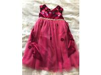 Monsoon hand finished dress 18-24 months