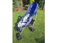 Mamas & Papas stroller with rain cover £20