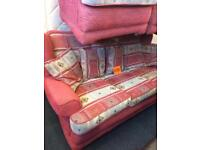 3 seater sofa and 2 chairs SALE PRICE...