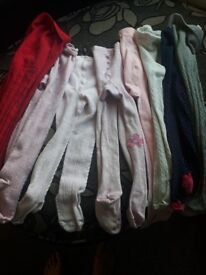 Bundle of tights age 3-4