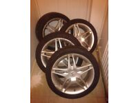 MUST SELL OFFERS Honda Accord Type R 5 stud 17s with Falken 5mm tread tyres