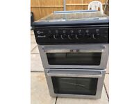 For Sale. A lovely clean gas cooker. Works as New. 50cm wide. Top glass cover . Automatic ignition.