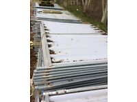 Site Security Fencing / Solid Hoarding Panels
