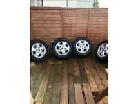 Transit custom limited alloys alloy wheels