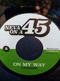 Candido / Edwin Starr – On My Way / Easin' In