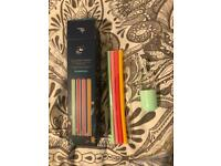 Reusable silicone Straws with cute carry case