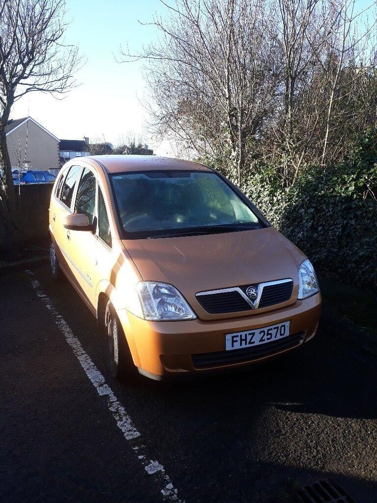 Vauxhall meriva 7 months mot