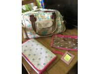 Authentic Pink Lining change bag - Flights of Fancy