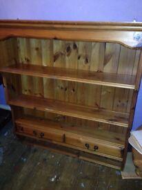 Pine dresser top £20