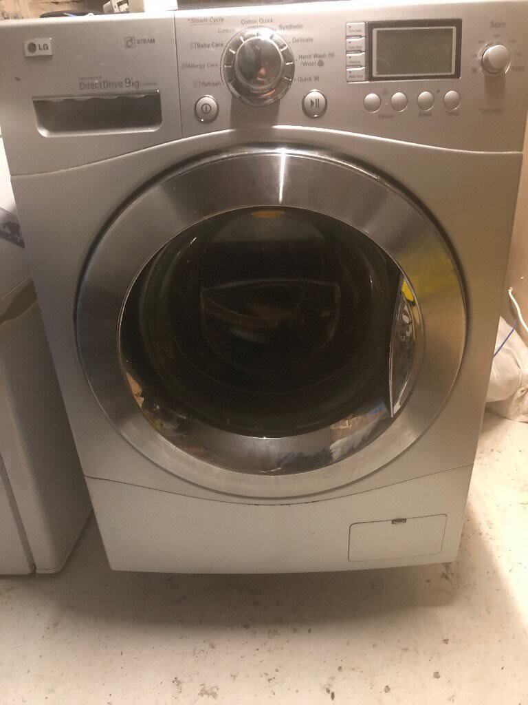 LG Invertor Direct Drive 9 KG Washing with Steam Function