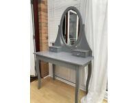 Grey IKEA Dressing Table