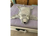 Ikea Child's Plush Rug Bedspread