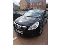 Vauxhall Corsa 1.2 Black Car