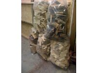 large bags of firewood for sale £2.50 each BUY 2 BAGS GET 1 FREE