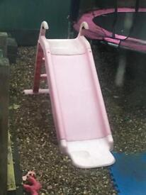 Small pink slide