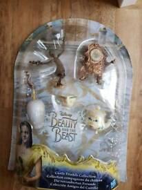 Beauty and the beast castle friends collectable collection BNIB