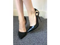 Used ladies shoes size 4 / 37 stiletto heels