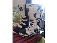 Fox comp 5 motocross boots size 12 adult