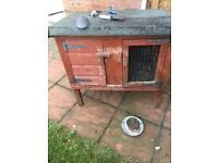 Outdoor rabbit/small animal hutch