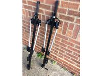 Bike carriers for roof rack