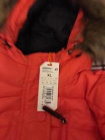 Red superdry Fuji jacket
