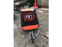 Samax twin bicycle trailer/ stroller