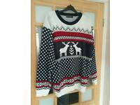 Men's Christmas Jumper size large