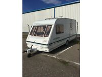 Abbey Freestyle Caravan (2001) - 2 berth, end washroom, very good condition. Ideal first caravan.