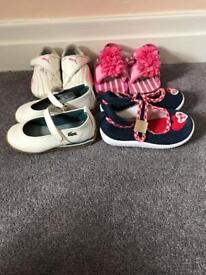 Girls Shoes Size 4