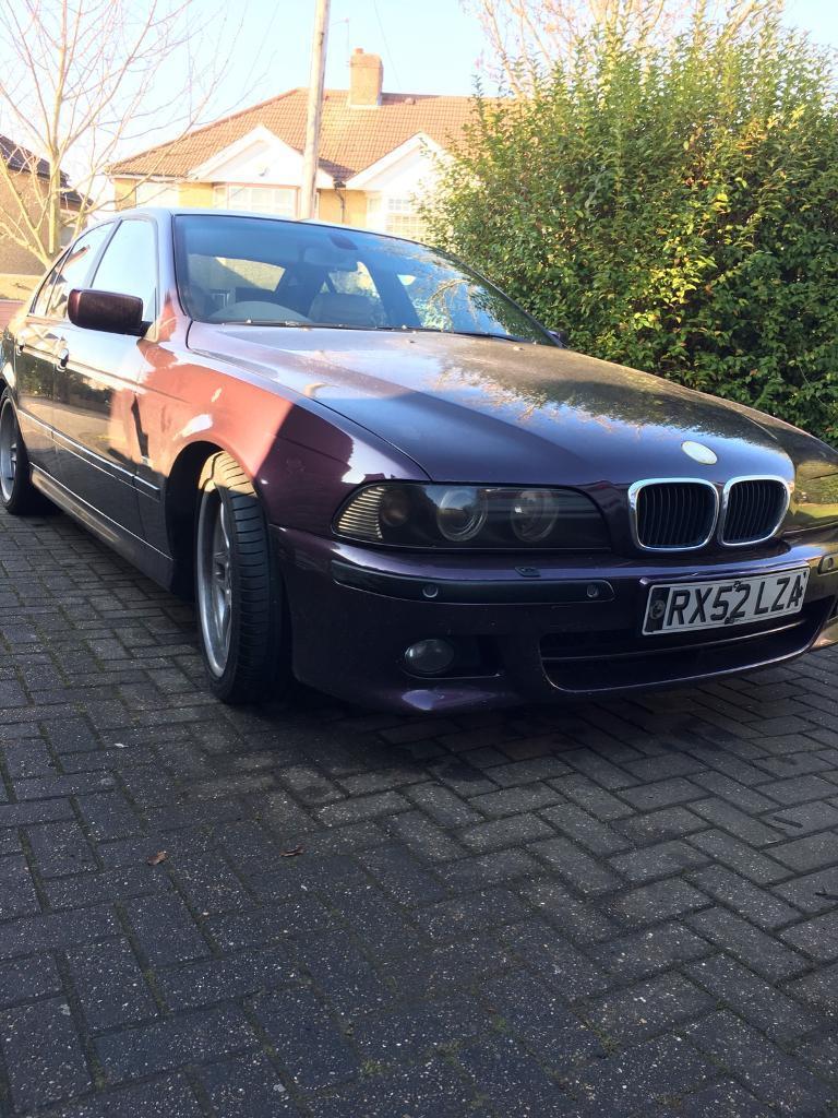 BMW 525 individual package