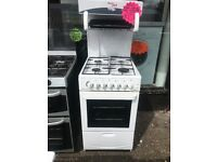 BEKO 50CM HIGH LEVEL ALL GAS COOKER IN WHITE
