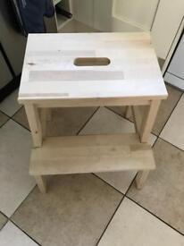 Bekvam - Step Stool - Birch solid wood
