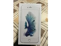 Brand New Factory Sealed Apple iphone 6s plus 64gb Silver unlocked