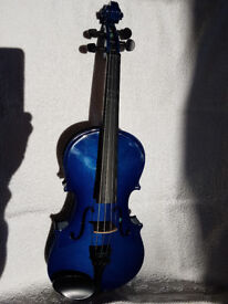 Childs violin with case