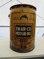Vintage Enarco Oil can