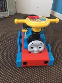 Ride on Thomas and track
