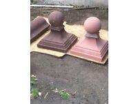 Gatepost Tops/ Coping Stones